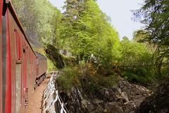 SRPS West Highlander Monessie Gorge (Chris Baines) Tags: west fort highlander william gorge railtour berwick wcr srps nort 47854 monessie