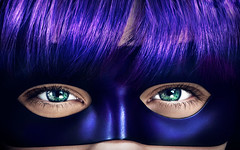Chloe Moretz Kick Ass Mask HD Wallpaper (StylishHDwallpapers) Tags: movie mask kick chloe kickass moretz hitgirl