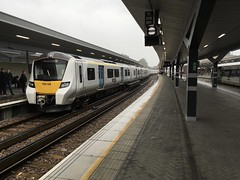 700108 1st day in passenger traffic - 20/06/16 (tilburyriverside1992) Tags: uk bridge london train siemens class emu 700 108 thameslink