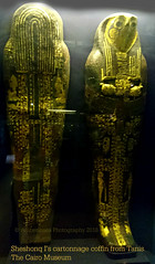 Sheshonq I's cartonnage coffin from Tanis - Cairo Museum (Amberinsea Photography) Tags: egypt cairo pharaoh ancientegypt tanis cartonnage cairomuseum sokar sheshonqi amberinseaphotography