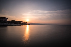 Silent Sea - Opatija (wigerl) Tags: light sea sun hot licht nice meer warm europa europe foto sommer croatia opatija beautifull kroatien 2016 fujixt1