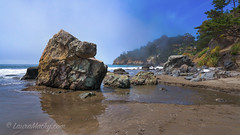 Muir Beach (Laura Macky) Tags: ocean seascape beach landscape marincounty muirbeach pacificcoast