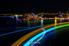 Vivid Sydney 2016 (davywg) Tags: show bridge cruise light house boat opera harbour ships sydney vivid australia nsw colourful therocks