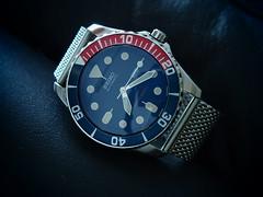 Seiko SNZF17 Vintage Mod (Fana ) Tags: japan vintage mod watch timepiece automatic diver pepsi wrist horloge seiko montre automatique 7s26 snzf17 fanawatches watchelse
