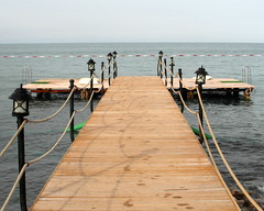 simple pier (kexi) Tags: simple pier sea mediterranean turkey horizon samsung wb690 may 2015 perspective waterfront water instantfave