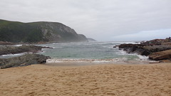 Storms River Mouth Beach (Rckr88) Tags: ocean africa travel sea beach nature water mouth river southafrica outdoors coast sand waves south wave coastal coastline storms gardenroute tsitsikamma easterncape tsitsikammanationalpark stormsrivermouth stormsrivermouthbeach