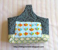 PATCH5809-Cesta-2016-06-05 (Silvia LGD (Little Green Doll)) Tags: hechoamano crafts patchwork fabrics telas handmade cesta cestareversible reversibleboxtote rbtote veryshannon basket