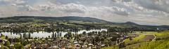 Stein am Rhein (oliviahohlwegler) Tags: canon river eos schweiz switzerland am fluss bodensee rhein stein 500d hegau hohenklingen