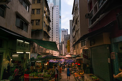 Graham St HK Central (fate atc) Tags: hk buildings hongkong market soho central oldmarket grahamst