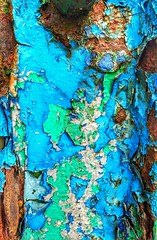 Ap(peel)ing image (tubblesnap) Tags: metal post peeling paint paints multicoloured multicolored textures texture4all weathered decay texturesforall