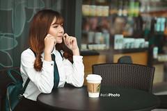 E25 (erik_bui_89) Tags: woman cute student nikon human beautifull emart