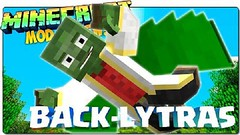 Backlytra Mod (MinhStyle) Tags: game video games gaming online minecraft