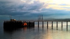 Calm before (and after) the storm (sheumais63) Tags: ferry river scotland dundee angus tay broughty