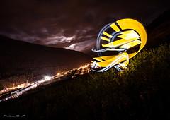 Mountain Calli (Aty Lightgraff) Tags: lightpainting light atylightgraff lightgraff lumire graff cra photo poselongue canon sigma