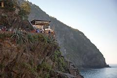 Riomaggiore Clifftop Cafe (Nifty_Shoes) Tags: holidaysnaps cinqueterre italy summer 2016 corniglia riomaggiore manarola