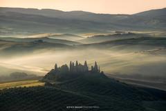 Tuscany Morning (1500px) (Enrico Boggia   Photography) Tags: toscana tuscany italia italy poderebelvedere valdorcia san quirico sanquirico alba sunrise enricoboggia