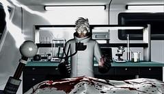 They won't stay dead (CalebBryant) Tags: scientist mad science arcade sl