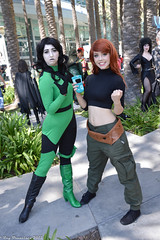 WonderCon 2015 (RayCisco) Tags: cosplay disney anaheim cosplayers kimpossible anaheimconventioncenter shego