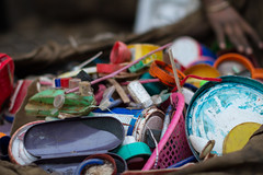 Recyclable Plastics (AdamCohn) Tags: india adam colors trash toys garbage rubbish recycle mumbai recycling containers plastics reuse cohn dharavi slumdog adamcohn wwwadamcohncom recyclingplastic dharavislums