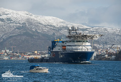 Rem Ocean (Aviation & Maritime) Tags: norway offshore bergen multipurposeoffshorevessel remmaritime remship remocean