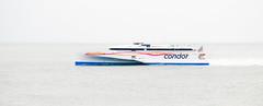 Condor Liberation (Jonathan Huelin) Tags: sea water ferry boat nikon jersey condor channelislands austal d3000