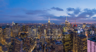 NYC Skyline Pano from Top of the Rock