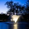 Szökőkút (MBKeeS) Tags: blue lake water night canon spring long exposition hour este tájkép víz 1100d kékóra thechallengegame békástó hosszúexpozíció