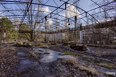 PFG-9 (StussyExplores) Tags: abandoned wheel rust fairground ferris ukraine explore grime exploration derelict chernobyl pripyat