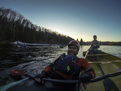 Paddling A Playboat (wa2wider) Tags: ontario river scott kayak canoe dagger magpie wawa