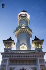 Minaret, Kapitan Kelling Mosque (The.Creativity.Engine) Tags: street history architecture town george twilight asia dusk minaret muslim islam faith mosque georgetown historic malaysia moorish penang minar pinang kapitan kelling caudeermohudeen