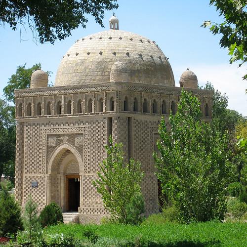 163-OUZBEKISTAN-Boukhara, mausolée Ismaïl Samani, la perle de l'Orient (début X°, le plus ancien mausolée musulman)