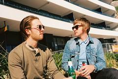 Monokel Eyewear 2015 (Matthew Willcocks) Tags: film sunglasses 35mm seaside nikon pentax k1000 kodak f100 devon editorial torquay lookbook