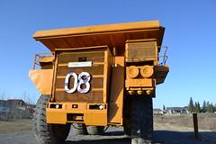 Lectra Haul truck (jc nadeau) Tags: letourneau off highway truck 08 hinton alberta coal mining operations canada lectra haul