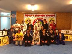 Seminario Sergio Canudo y Fabio Fetter gimn. Black Belt Getxo 3-3-2012
