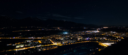 Night Cityscape Panorama