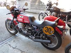 Moto Guzzi Wettbewerbsgespann (urs_witschi) Tags: rally moto motoguzzi guzzi wetbewerb gespann 20150424