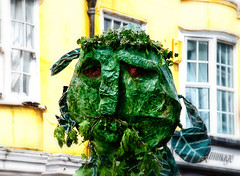 Jack in the Green Festival Hastings (dcanprice) Tags: green festival facepainting costume crazy funny bodypaint hastings mayday fancydress eastsussex morrisdancers pagan greenman paganfestival jackinthegreen hastingsoldtown