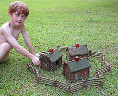 vintagecabinsg (babyfella2007) Tags: old boy jason sc vintage toy log cabin child grant south young southern taylor carolina beaufort batesburg