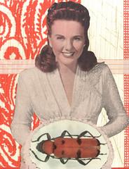 gluten free (kurberry) Tags: collage monoprint cutpaste vintageephemera collageaday