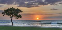 Sunset from Hawaii (acase1968) Tags: sunset season lens ed island four hotel big nikon skies cloudy historic resort clear nikkor f4 mostly vr afs hualalai partly d600 24120mm kaʻūpūlehu