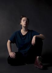 amanda3 (Kulturama Fotogymnasium) Tags: light portrait art student sweden stockholm exhibition kulturama