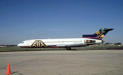 Chicago Midway Airport - ATA - 727 (twa1049g) Tags: chicago airport 1997 boeing midway 727 ata n782at