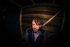 XIVUS Log Cabin (JamesCameronThomson) Tags: music canon fisheye indie 8mm musicvideo directflash swanseamusic xivus