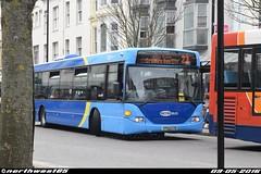 6513 (northwest85) Tags: street bus worthing south 23 scania metrobus crawley cto 6513 yp52 omnicity yp52cto