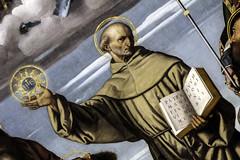 St Bernardino of Siena (Lawrence OP) Tags: london jesus saints nationalgallery friar franciscan bernardino holyname morettodabrescia