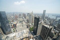 views from 4 WTC 4 WTC 57th Floor Terrace June 2013 (Tony Shi, Life) Tags: nyc newyorkcity ny newyork worldtradecenter wtc lowermanhattan worldtradecenters downtownmanhattan 4wtc 150greenwich