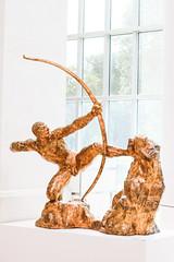 2013_edition_04_24 (Ilya Gulyaev) Tags: nyc travel newyork art statue museum bow archery met metropolitanmuseum