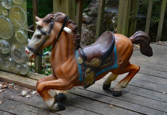 The New Pony at Our House (BKHagar *Kim*) Tags: horses horse art yard outdoor racing collection plastic herd yardart riversong bkhagar thehagarherd