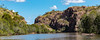 Katherine Gorge cruise (Moyseee) Tags: travel panorama landscape outdoors rockformations cr2 riverscene