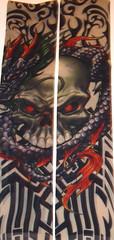 hallfej nonfi tattoo harisnya (JuliaCarina Design) Tags: tattoo karra nonfigurativ tetovls hahlfej huzhato hatsu